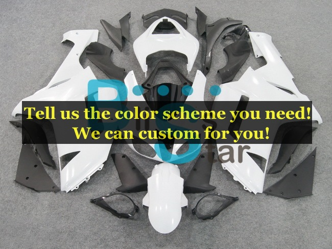 custom fairing kits fit for Kawasaki Ninja ZX-6R 2007 2008